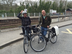 touring bike hire bodmin parkway station cornwall